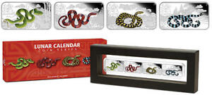 2013-Year-Of-The-Snake-1oz-Silver-Rectangle-Four-Coin-Set