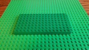 LEGO GREEN 8 X 16 STUD PLATE PIECE BUILDING PLATFORM BASE PART