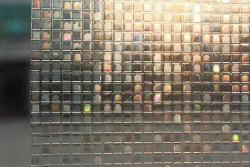 Premium 3D réfléchissant déco verre dépoli givré vinyle intimité film de fenêtre
