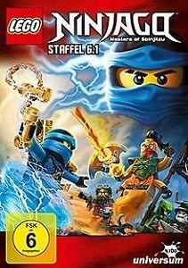 Lego-Ninjago-Staffel-6-1-von-Michael-Hegner-Jus-DVD-Zustand-akzeptabel