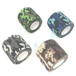 camo tape wrap gun rifle camouflage army hunting 5m webbing firm shooting