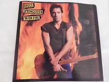 "Bruce Springsteen ""I'm on Fire"" Picture Sleeve! MINT! ABSOLUTELY PERFECT! NEW!"