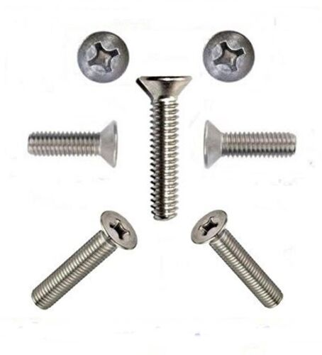 Senkkopfschrauben 3 mm M3 DIN 965  3 x 6 bis 3 x 40 Edelstahl Senkschrauben