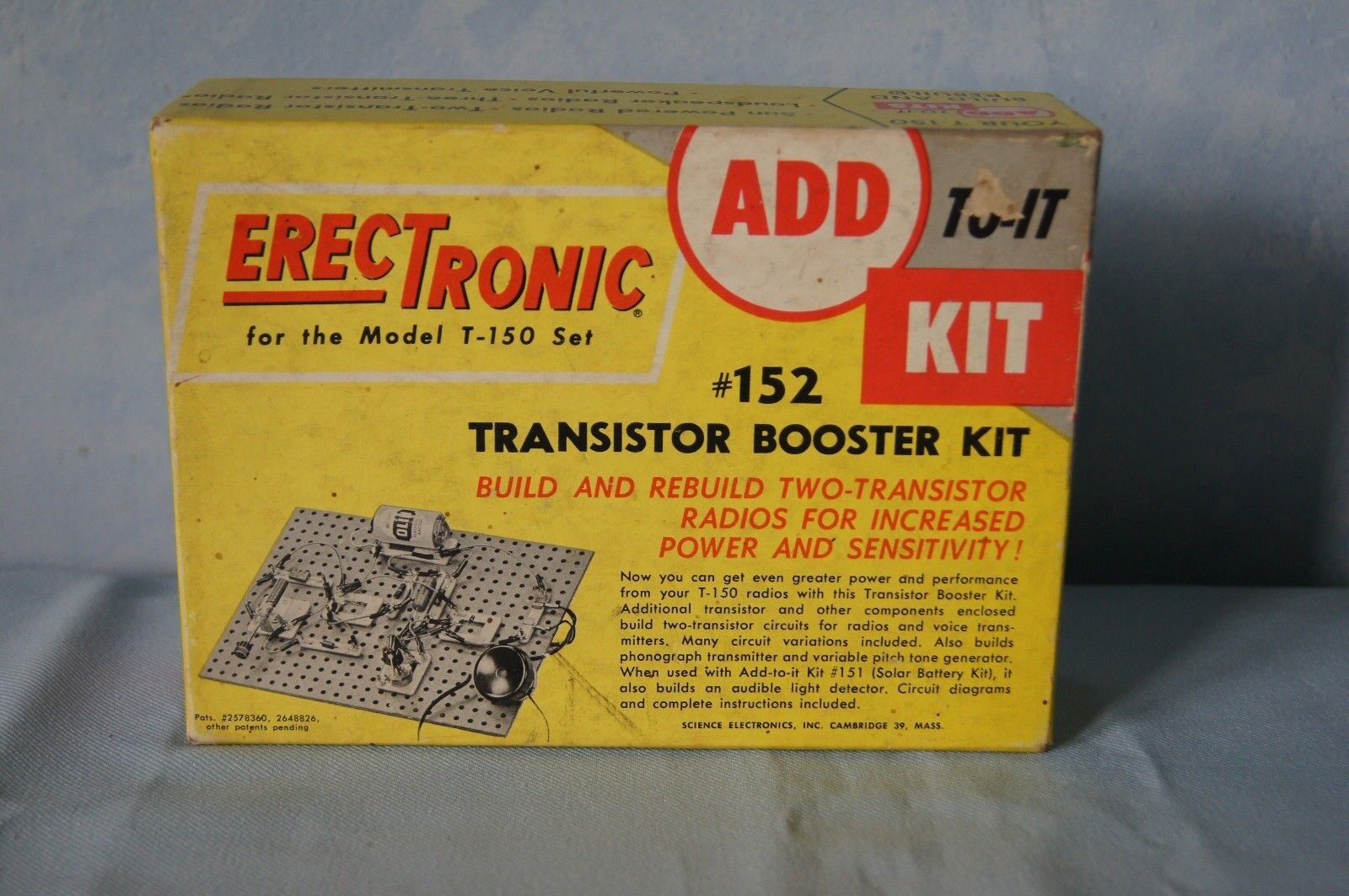 Rare Science Electronics Erec-Tronic ErecTronic Transistor Booster Booster Booster Kit, f28ef7