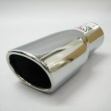 Scarico Sport Cromo Tubo Silenziatore Coda Per Peugeot 106 206 306 406 407 207