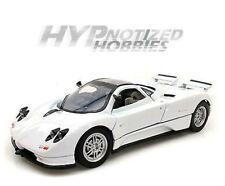 MOTOR MAX 1:24 PAGANI ZONDA C12 DIE-CAST WHITE 73272