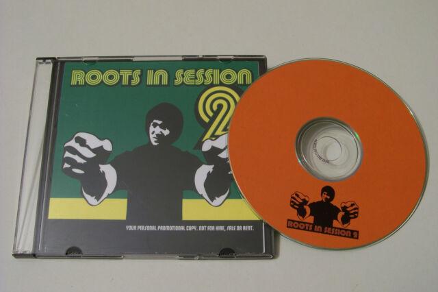 ROOTS IN SESSION 2 PROMO MIXTAPE CD 2003 Sizzla Elephant Man Junior Reid Reggae