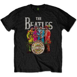 The-Beatles-Sgt-Pepper-Official-Merchandise-T-Shirt-M-L-XL-Neu