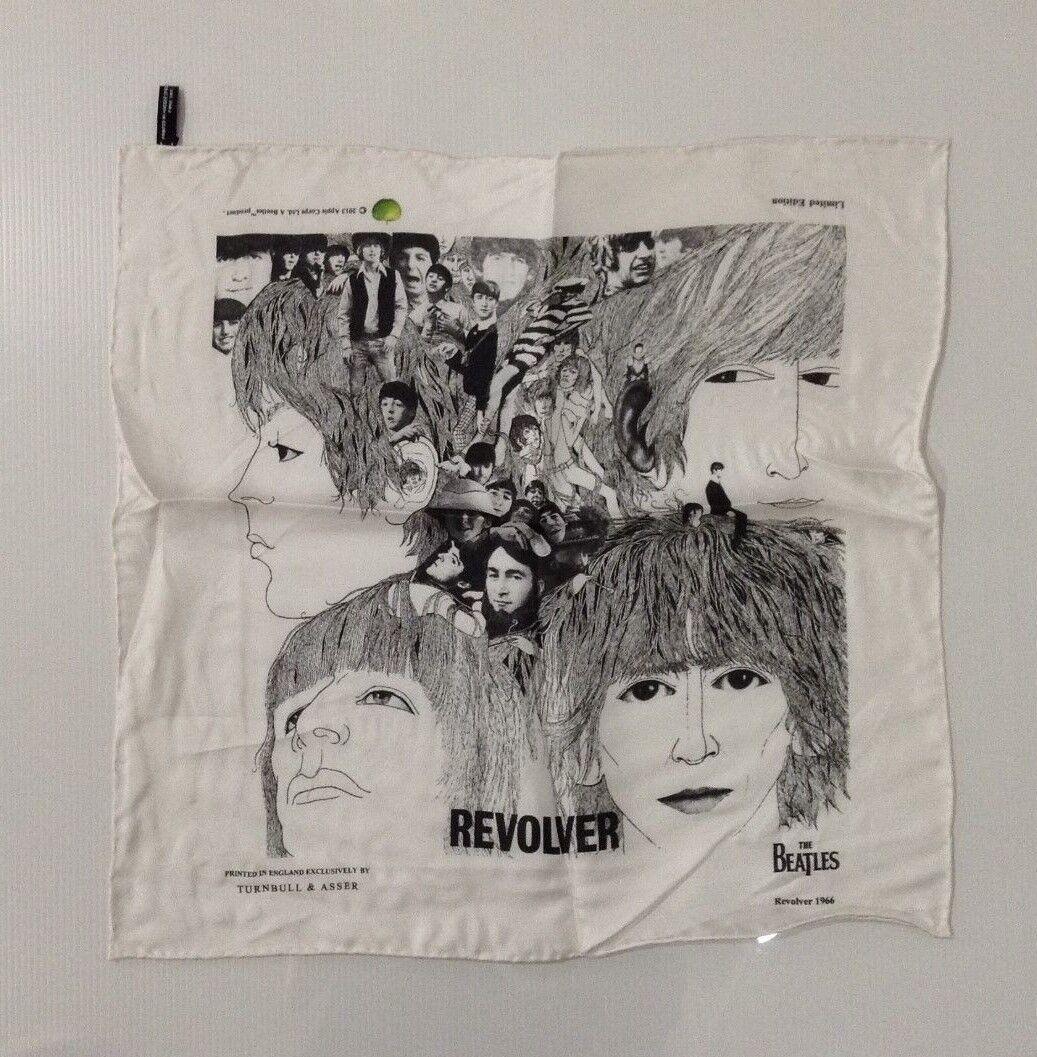 The Beatles Revolver Men/'s Silk Pocket Square