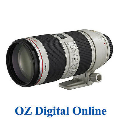 New Canon 70-200mm f/2.8 L IS II USM EF Lens 70-200 F2.8 II 1 Yr Au Wty