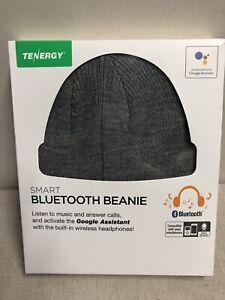 54b40a8da Details about Tenergy Bluetooth Beanie Wireless Smart Headset Headphone  Speaker Mic NIB
