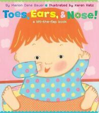 Toes, Ears, & Nose!: A Lift-the-Flap Book (Lap Edition)-ExLibrary