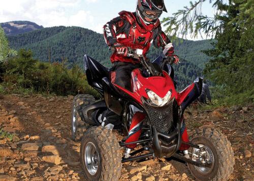 NEW Red Shock Absorber Covers Honda TRX 450 R ER TRX450 450R Set of 3