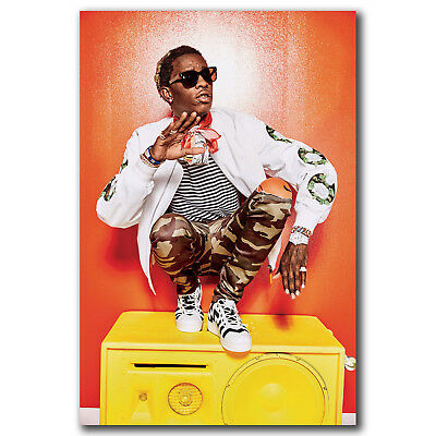 YOUNG THUG Poster MULTIPLE SIZES Hip Hop Rap Recording Artist Music A