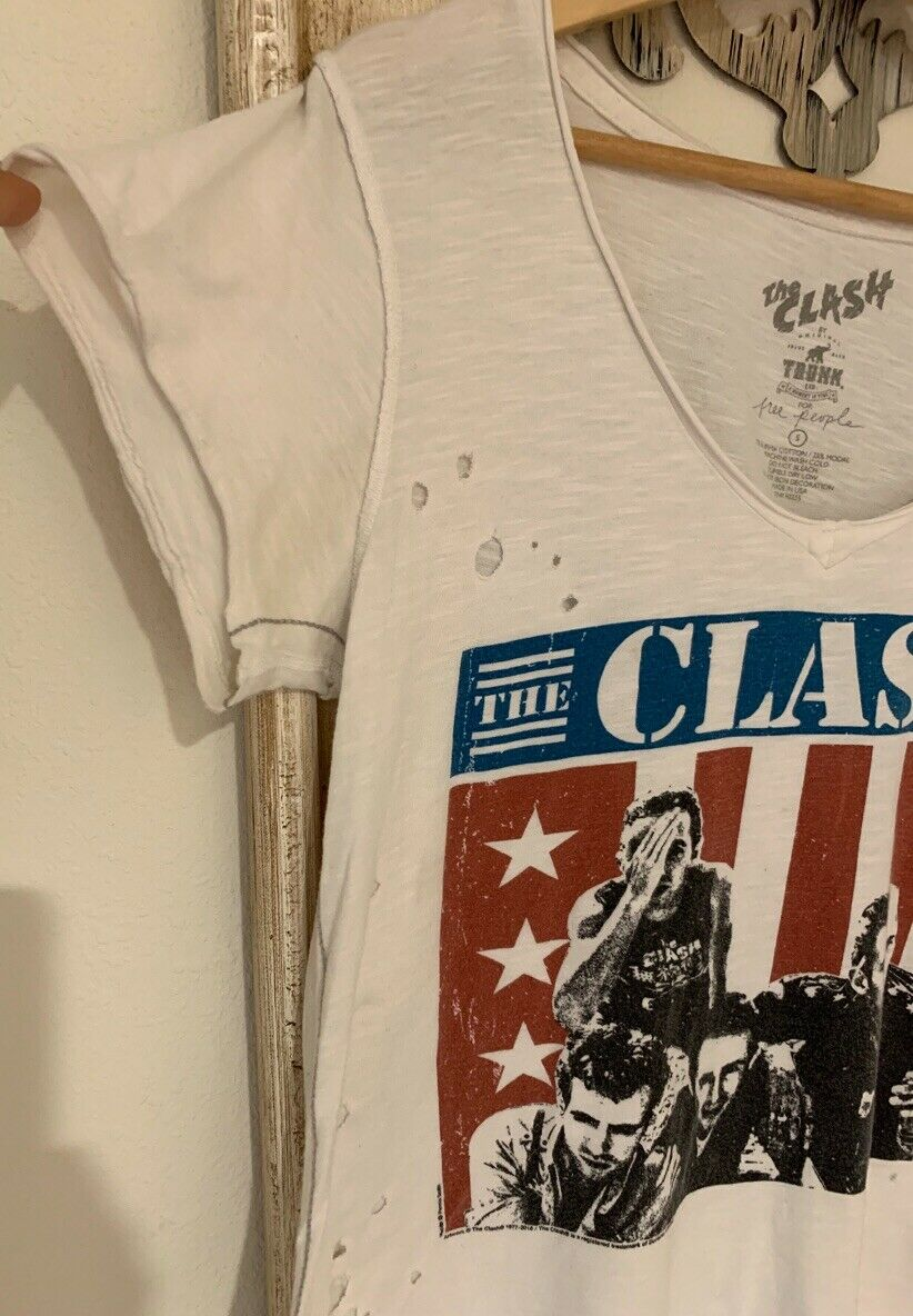 Free People X Trunk Itd The Clash T-Shirt Top SIz… - image 5