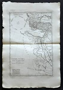 ASIE MINEUR- MER ATLANTIQUE carte geographique ancienne- old antique map 1787 IwNIygkb-08051429-239985424