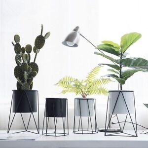 Metal Flowerpot Modern Iron Flower Rack Indoor Decoration Plant Pot
