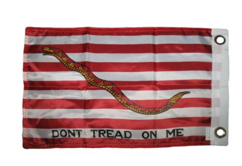 12x18 First Navy Jack Tea Party 2ply Double Sided Boat Car Motorcycle Bike Flag