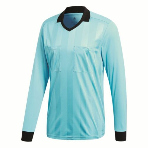 Adidas Mens Referee 18 Sports Football Soccer Long Sleeve Jersey Shirt Top