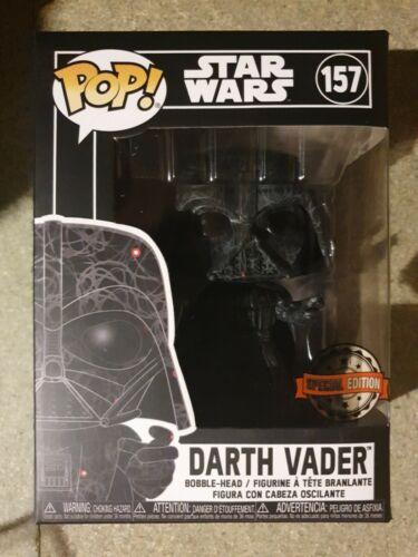 Funko Pop Vinile Darth Vader #157 SPECIAL EDITION FUTURA NUOVO GUERRE STELLARI RARO