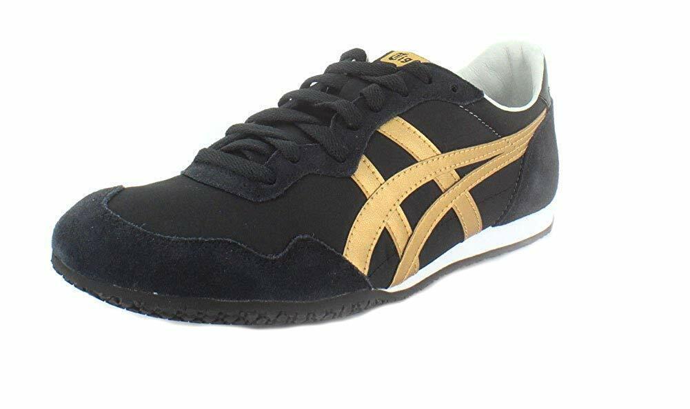 Onitsuka Tiger Mens Serrano Leather Low Top  Lace Up Running scarpe da ginnastica  profitto zero