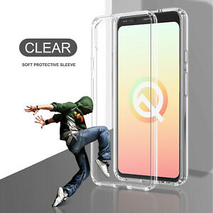 For-Google-Pixel-4-4-XL-Crystal-Clear-Shockproof-Armor-Phone-Soft-Case-Cover-US