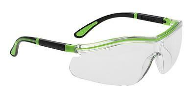 Clear Lens Portwest PW11 Levo 2 in 1 Safety Spectacles Glasses Goggles