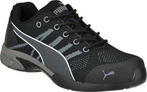 Puma-Safety-642925-Celerity-Knit-Women-039-s-Black-Low-SD-Steel-Toe-Work-Shoes