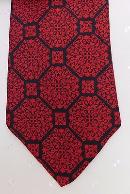 Arthur Humphreys tie vintage 1950s 1960s Vivax Muswell Hill Moorgate red black