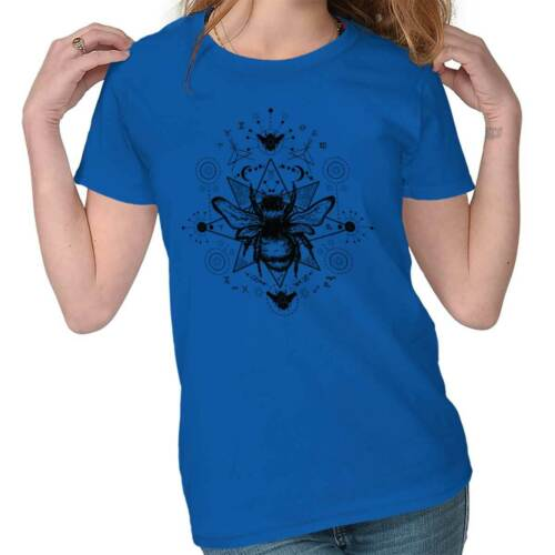 Spirit Animal Bee Honeybee Symbolic Gift Womens Tees Shirts Ladies Tshirts
