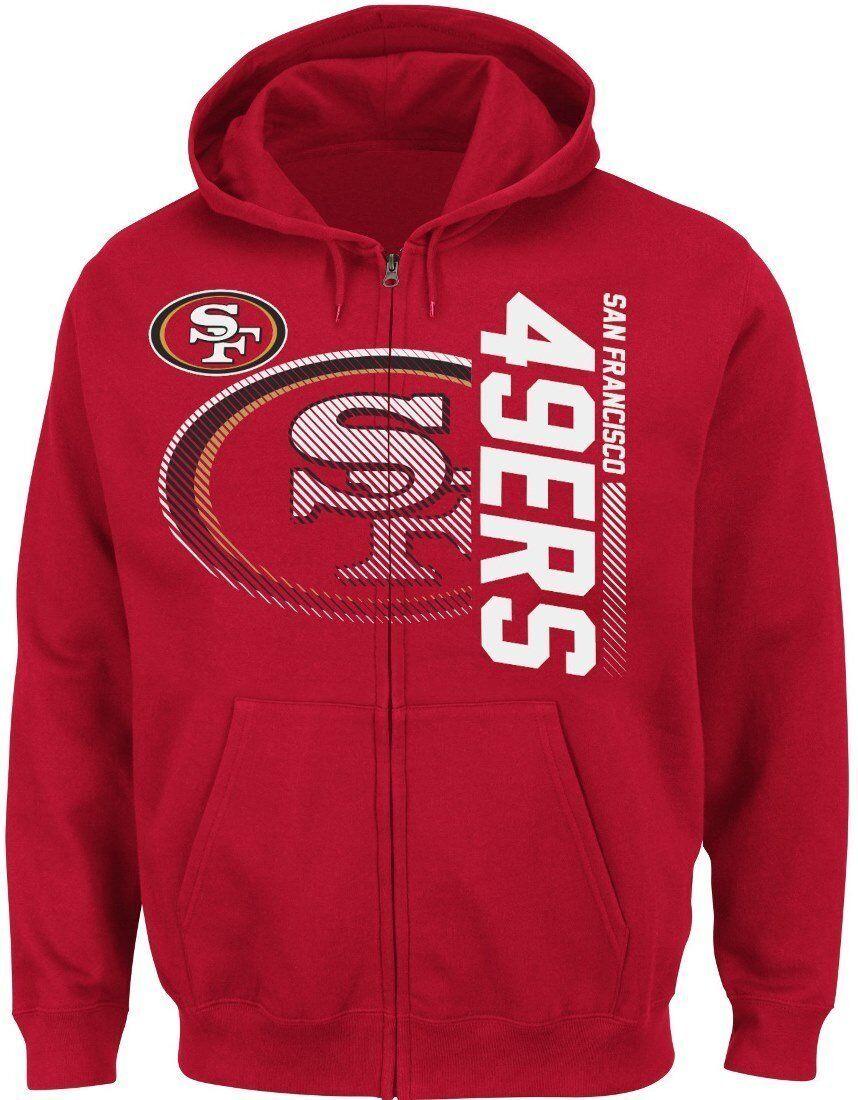 NFL Hoody Jacke Kaputzenpullover SAN FRANCISCO 49ERS Touchback VII Football