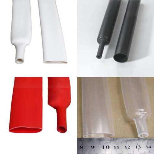 20mm Heatshrink Tube 4:1 Heat Shrink Sleeving Adhesive Glue Lined Waterproof