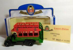 Oxford-Diecast-Edicion-Limitada-AEC-Bus-Navidad-2002-B80-3012-de-10000