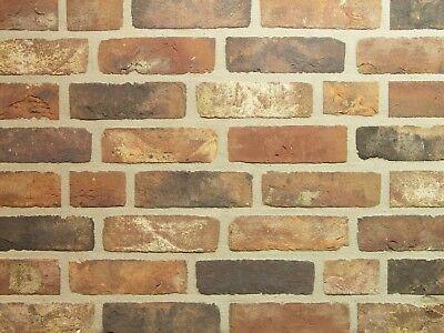 Heimwerker 100% Wahr Handform Verblender Feldbrand Wdf Bh687 Rot-schwarz-bunt Klinker Vormauersteine