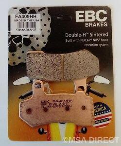 EBC Sintered REAR Brake Pads For HARLEY DAVIDSON STREET GLIDE (2008 to 2021)