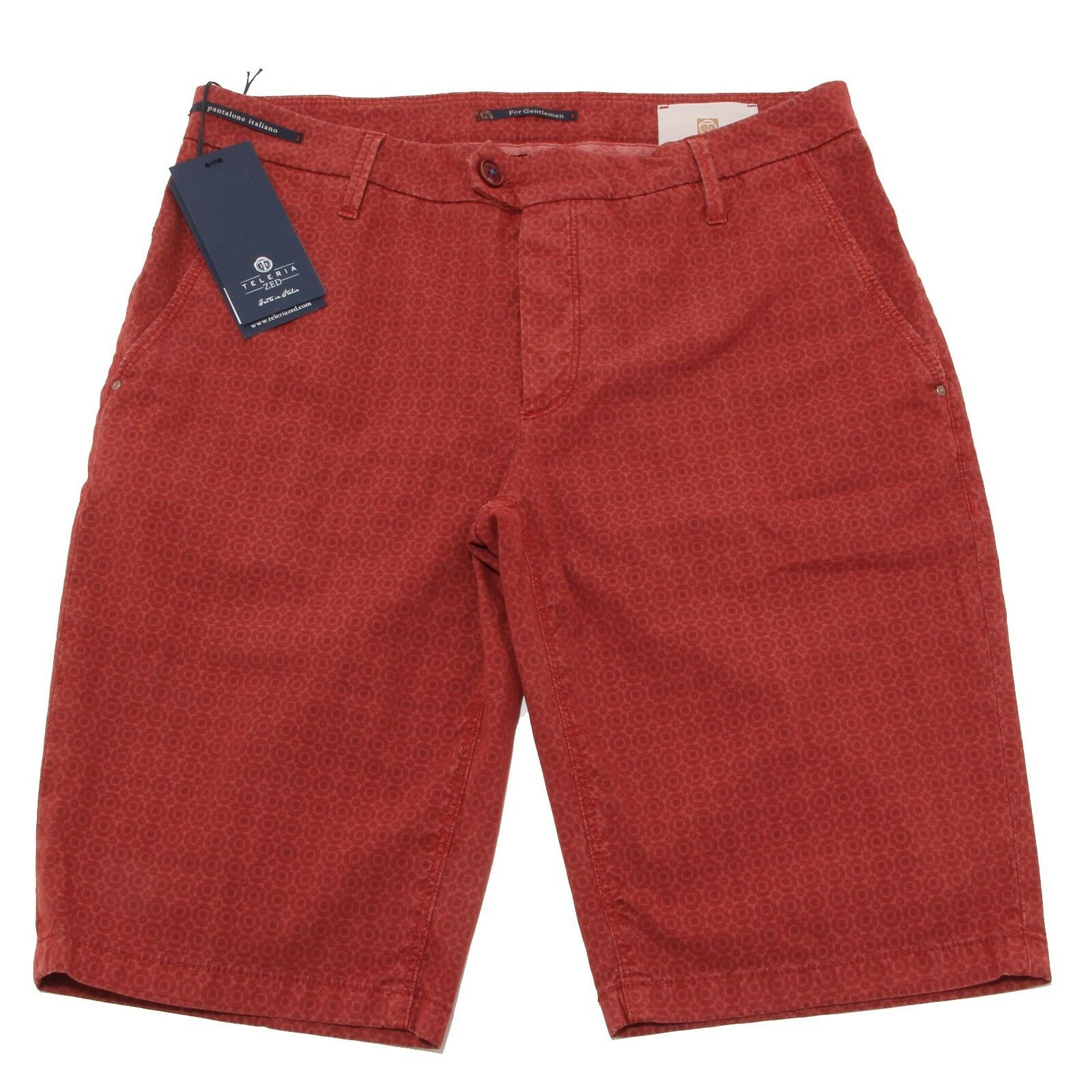 3747P bermuda mattone TELERIA ZED pantaloni uomo shorts men
