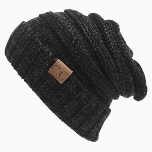 New Women Wool Winter Warm Cap Crochet Warm Knit Knitted Beanie Ski Fashion Hat