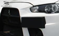 2008-2014 Mitsubishi Lancer Duraflex Evo X Look Plate Frame - 1 Piece Body Kit
