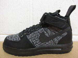 Nike Da Donna LF1 Flyknit workboot HI TOP SNEAKER con 860558 001 Scarpe Da Ginnastica