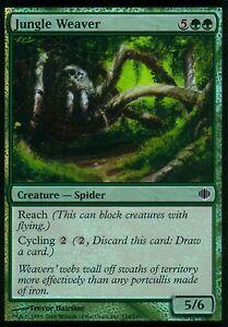 Jungle-Weaver-FOIL-NM-Shards-of-Alara-Magic-MTG