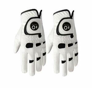 Golf-Gloves-Men-Ball-Marker-Value-2-Pack-Left-Hand-Right-Lh-Rh-Leather-Grip-Twin