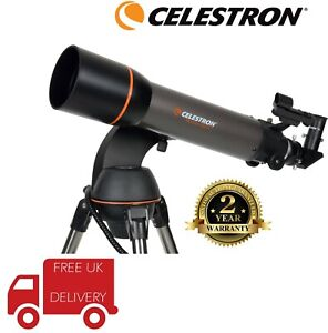 Celestron-NexStar-102-SLT-Refractor-Telescope-22096-UK-Stock