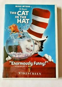 Dr-Seuss-The-Cat-in-the-Hat-DVD-2004-Widescreen-Edition-New-And-Sealed
