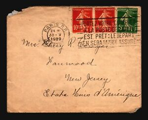 France-1920-Cover-to-New-Jersey-Z16601