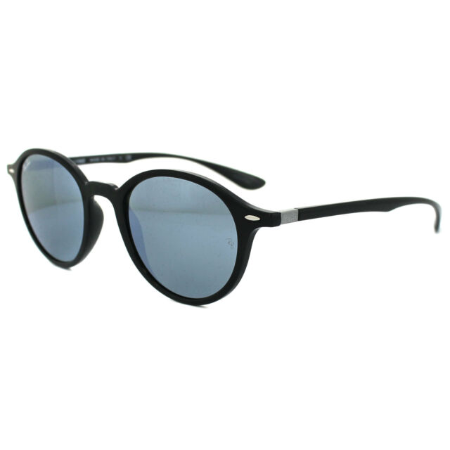 d9be680969 Ray-Ban Rb4237 601 30 Black Frame Green Silver Mirror Shaded Lens ...