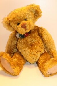Ganz Cottage Collectibles Vintage By Lorraine Bear Signed Foot 14 Ebay