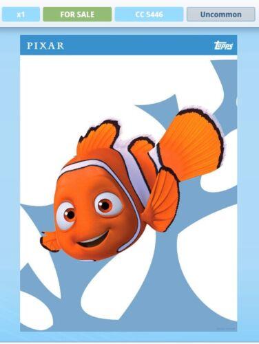 prix carte 6 set Topps Disney Collect Pixar personnalités Series 2