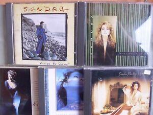 Sandra-5-CD-Sammlung