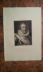 Ritratto-con-Articolo-1823-Enrico-IV-Re-di-Francia