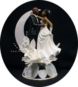 wedding cake toppers bald groom bald hispanic black american groom and 26387